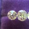 2.79ctw Old European Cut Diamond 3-Stone Suite 1.11ct center (GIA H VS2), and .84ct (GIA H VS2) and .84ct (GIA G VS1) 4