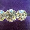 2.79ctw Old European Cut Diamond 3-Stone Suite 1.11ct center (GIA H VS2), and .84ct (GIA H VS2) and .84ct (GIA G VS1) 5