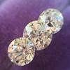 2.79ctw Old European Cut Diamond 3-Stone Suite 1.11ct center (GIA H VS2), and .84ct (GIA H VS2) and .84ct (GIA G VS1) 27