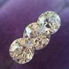 2.79ctw Old European Cut Diamond 3-Stone Suite 1.11ct center (GIA H VS2), and .84ct (GIA H VS2) and .84ct (GIA G VS1) 26