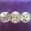 2.79ctw Old European Cut Diamond 3-Stone Suite 1.11ct center (GIA H VS2), and .84ct (GIA H VS2) and .84ct (GIA G VS1) 6