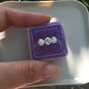 2.79ctw Old European Cut Diamond 3-Stone Suite 1.11ct center (GIA H VS2), and .84ct (GIA H VS2) and .84ct (GIA G VS1) 22