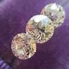2.79ctw Old European Cut Diamond 3-Stone Suite 1.11ct center (GIA H VS2), and .84ct (GIA H VS2) and .84ct (GIA G VS1) 13