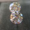 2.88ctw Old European Cut Diamond Pair, GIA I/VVS2 &  GIA H VS1 14