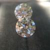 2.88ctw Old European Cut Diamond Pair, GIA I/VVS2 &  GIA H VS1 5