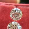 2.88ctw Old European Cut Diamond Pair, GIA I/VVS2 &  GIA H VS1 7