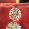 2.88ctw Old European Cut Diamond Pair, GIA I/VVS2 &  GIA H VS1 10
