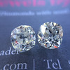 3.05tcw Antique Cushion Cut Diamond Pair, GIA J, VS2/SI1 14