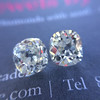 3.05tcw Antique Cushion Cut Diamond Pair, GIA J, VS2/SI1 5