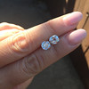 3.05tcw Antique Cushion Cut Diamond Pair, GIA J, VS2/SI1 7
