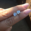 3.05tcw Antique Cushion Cut Diamond Pair, GIA J, VS2/SI1 3