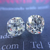 3.05tcw Antique Cushion Cut Diamond Pair, GIA J, VS2/SI1 13