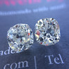 3.05tcw Antique Cushion Cut Diamond Pair, GIA J, VS2/SI1 6