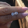 3.05tcw Antique Cushion Cut Diamond Pair, GIA J, VS2/SI1 10