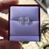 3.11ctw Antique Pear Shaped Diamond Pair GIA L M VS1 VS2 4