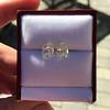 3.11ctw Antique Pear Shaped Diamond Pair GIA L M VS1 VS2 12