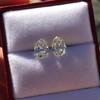 3.11ctw Antique Pear Shaped Diamond Pair GIA L M VS1 VS2 0