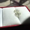 3.11ctw Antique Pear Shaped Diamond Pair GIA L M VS1 VS2 3