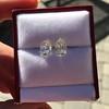 3.11ctw Antique Pear Shaped Diamond Pair GIA L M VS1 VS2 14