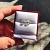 3.11ctw Antique Pear Shaped Diamond Pair GIA L M VS1 VS2 6