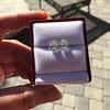 3.11ctw Antique Pear Shaped Diamond Pair GIA L M VS1 VS2 2