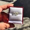 3.11ctw Antique Pear Shaped Diamond Pair GIA L M VS1 VS2 8