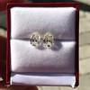 3.11ctw Antique Pear Shaped Diamond Pair GIA L M VS1 VS2 10