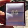 3.11ctw Antique Pear Shaped Diamond Pair GIA L M VS1 VS2 13