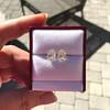 3.11ctw Antique Pear Shaped Diamond Pair GIA L M VS1 VS2 11