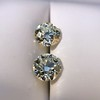 3.40ctw Old European Cut Diamond Pair 18