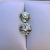 3.40ctw Old European Cut Diamond Pair 10