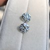 4.26ctw Old European Cut Diamond Pair, GIA K VS1. GIA K SI1 10