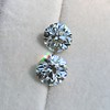 4.26ctw Old European Cut Diamond Pair, GIA K VS1. GIA K SI1 11