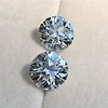 4.26ctw Old European Cut Diamond Pair, GIA K VS1. GIA K SI1 9