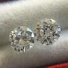 .89ct Transitional Cut Diamond Pair 6