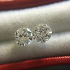 .89ct Transitional Cut Diamond Pair 4