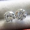 .89ct Transitional Cut Diamond Pair 2