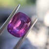 4.00ct Pink Cushion Shape Sapphire, with GIA 43