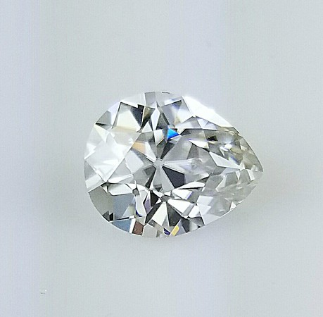 Loose 11 x 9mm Antique Pear Cut Moissanite