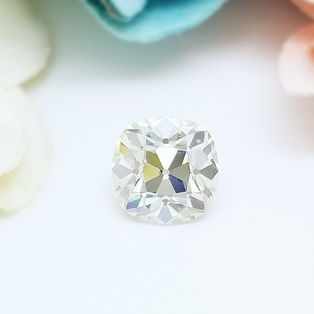Loose 8mm Square Antique Cushion Moissanite