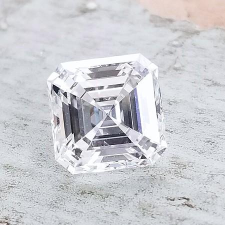 2.01ct Asscher Cut Diamond - GIA G, VVS2