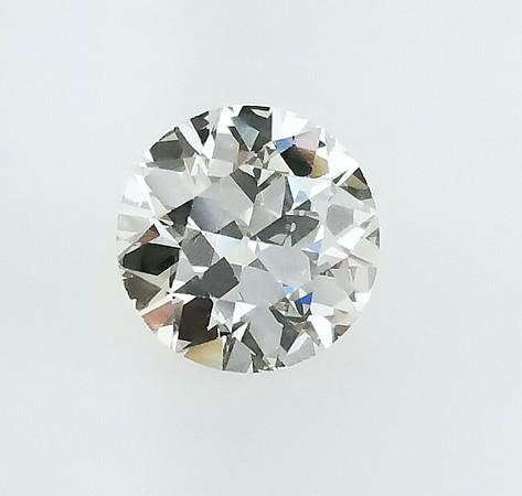 2.93ct Old European Cut Diamond - GIA K, VS2