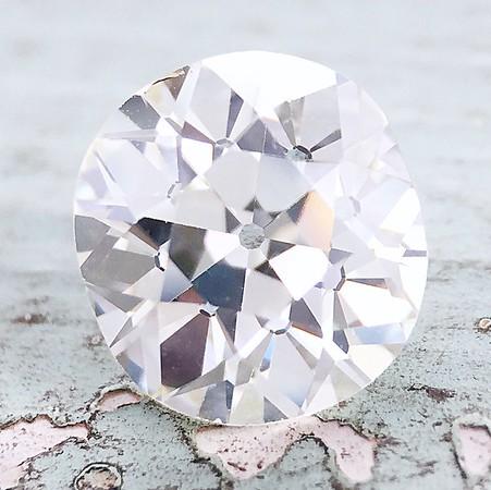 2.49ct Antique Cushion Cut Diamond - AGS M, SI1