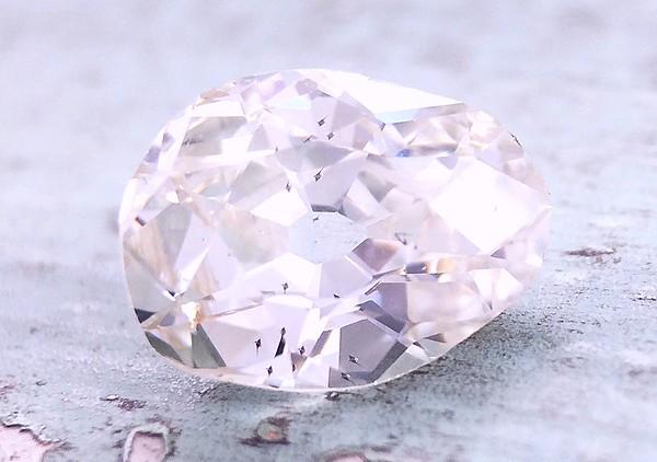 2.06ct Antique Pear Diamond - AGS L, SI1