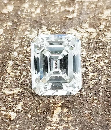 3.12ct Emerald Cut - GIA K VVS1
