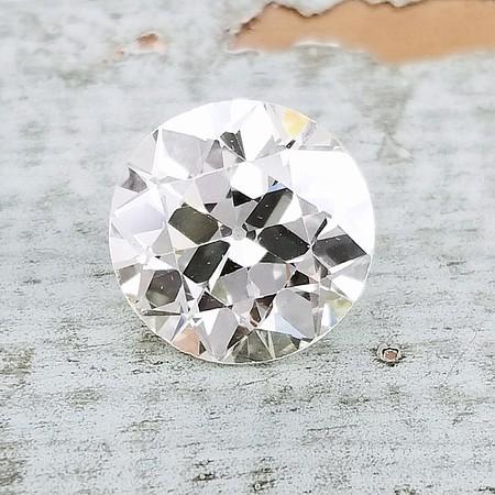 3.63ct Old European Cut Diamond - GIA O/P, VS1
