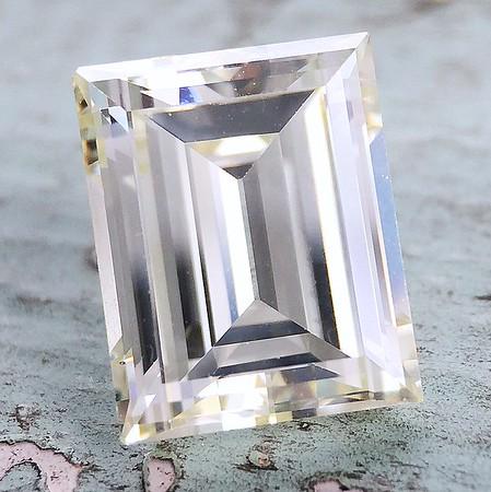 3.78ct Vintage Carre Cut Diamond - Uncerted Cape, VS