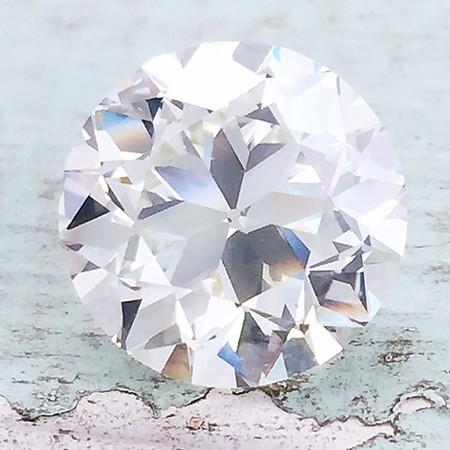 4.02ct Old European Cut Diamond, GIA L VVS2