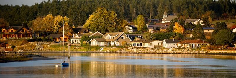 Autumn Light 12x36 Panorama