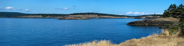 Iceberg Island, Outer Bay and Richardson 12x36 Panorama